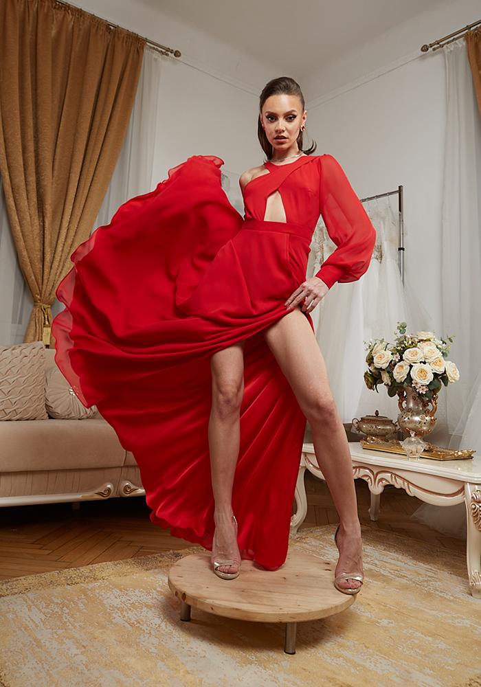 Rochie Eleganta de Seara Rosie - Atelier Rochii Elegante de Seara Bucuresti
